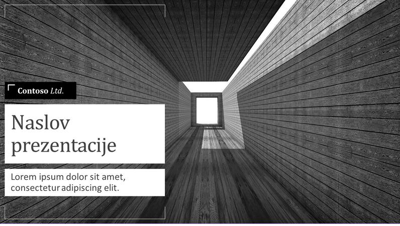 Kratka prezentacija arhitektonskog projekta