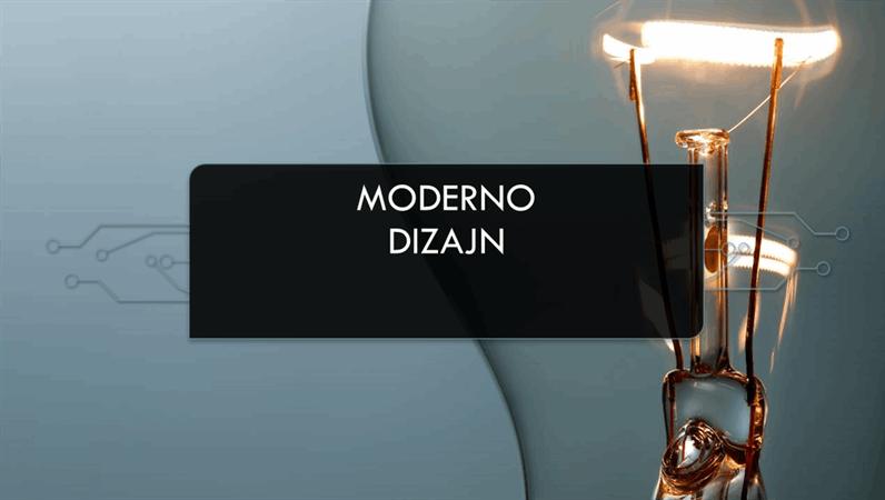Dizajn modernog sklopa