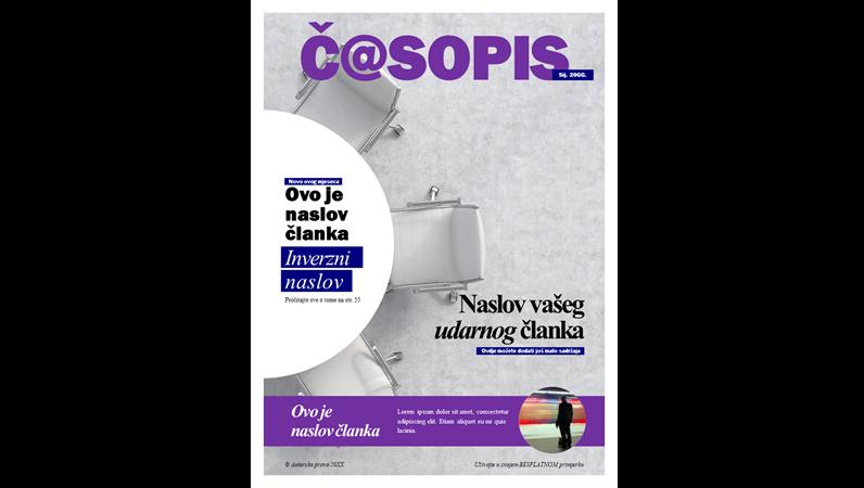 Naslovnice društvenog časopisa