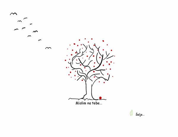 Kartica suosjećanja sa stablom