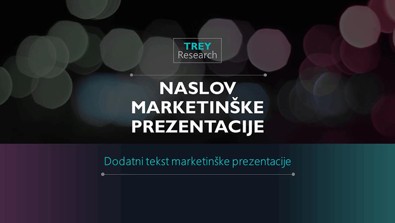 Futuristička marketinška prezentacija