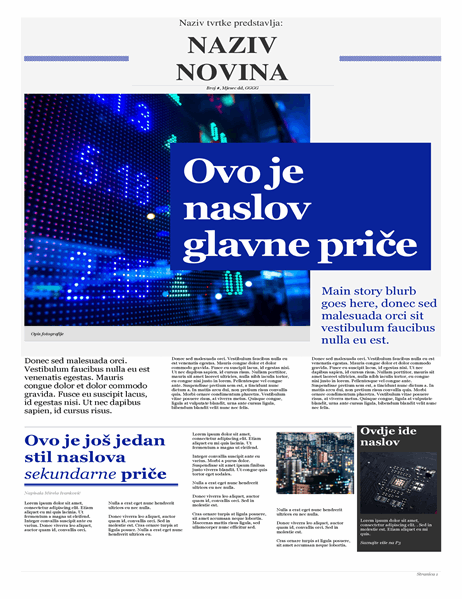 Moderne novine