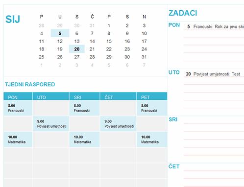 Učenički kalendar