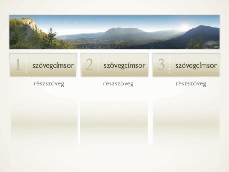 Kép három szöveghasábbal