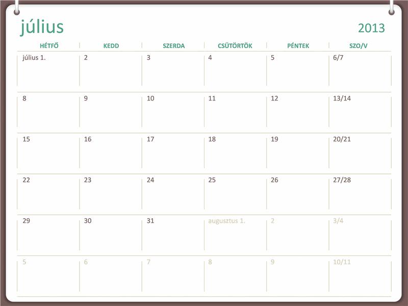 2013-2014-es akadémiai naptár (július)