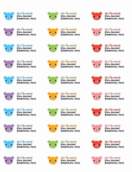Címfeliratok (Medvék)