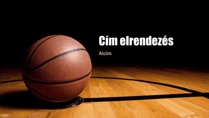 Kosárlabda bemutató (szélesvásznú)