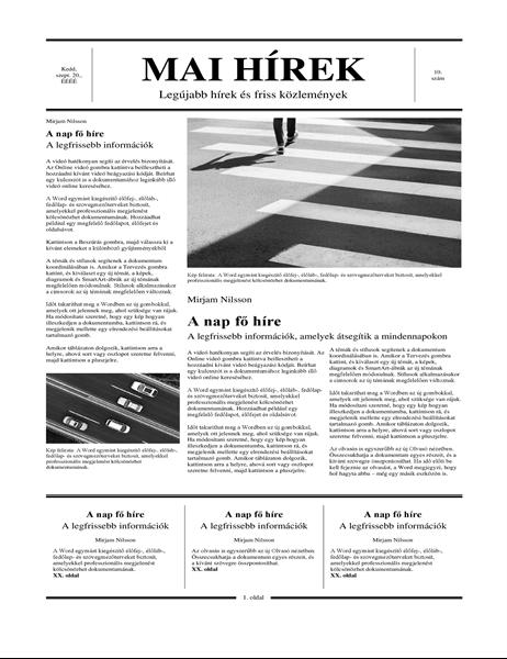 Hagyományos újság