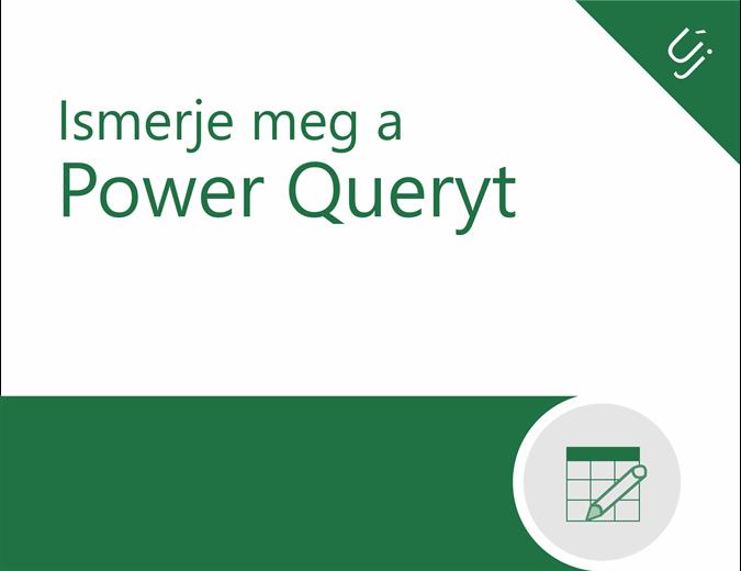 Power Query oktatóanyag