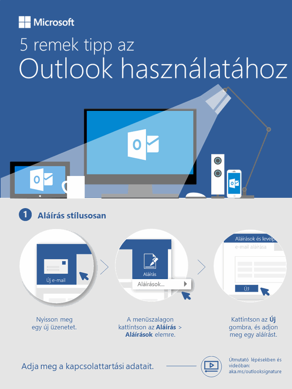 5 módszer az Outlook munkára fogására