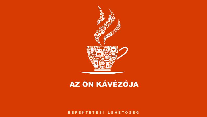 Kávézó üzleti bemutató diakészlet