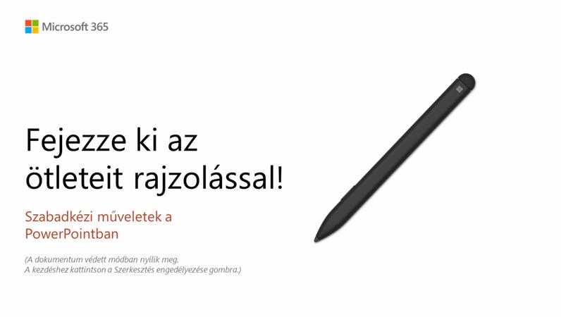 Üdvözli a PowerPoint!