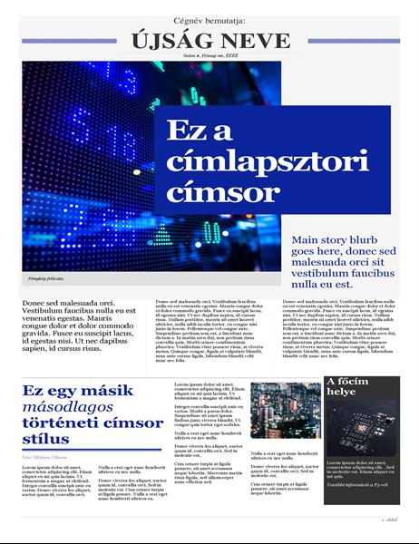 Modern újság