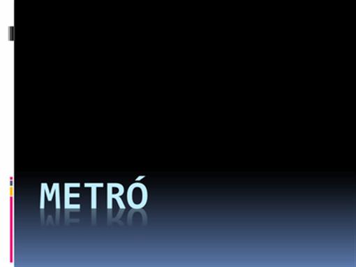 Metró