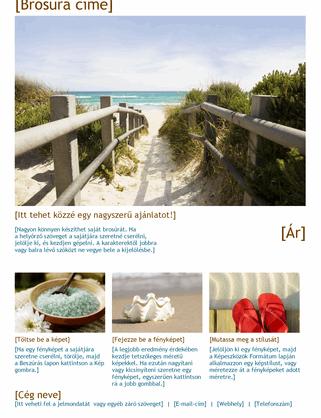 Fényképes utazási brosúra