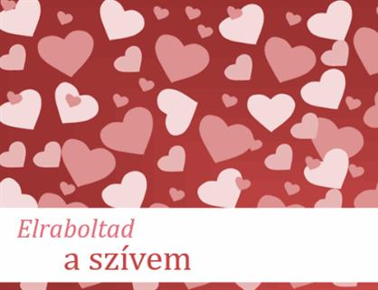 Valentin-napi kártyák