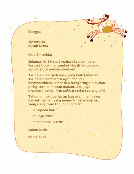 Surat untuk Sinterklas