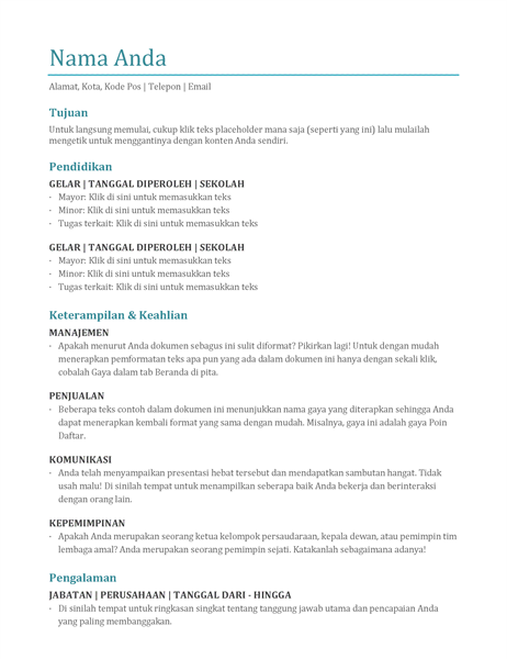 Resume (warna)