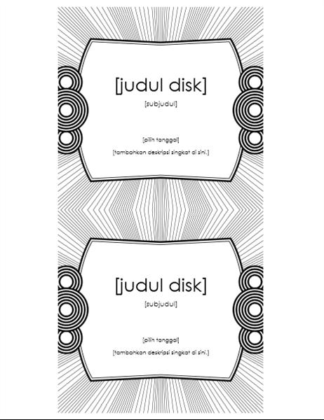 Label sisipan CD