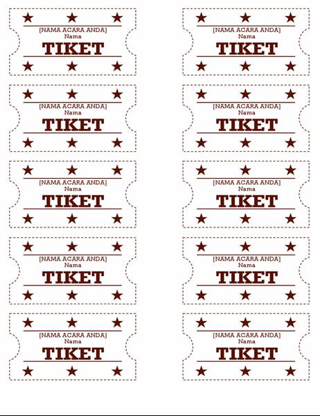 Tiket acara