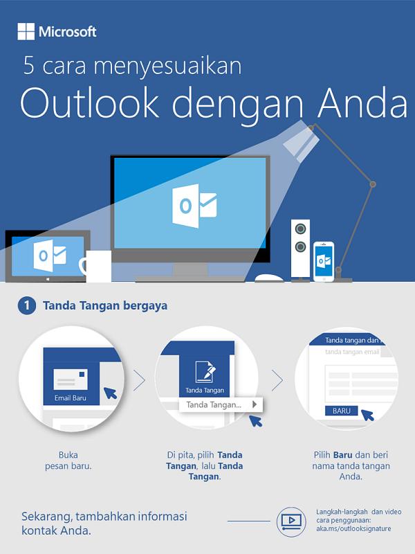 5 cara agar Outlook berguna untuk Anda