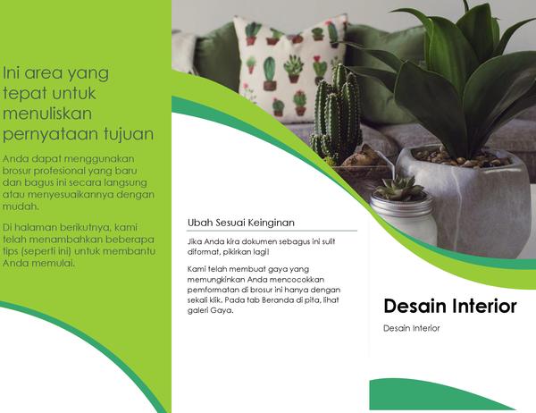 Brosur desain Interior