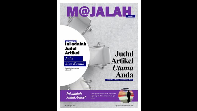 Sampul majalah sosial