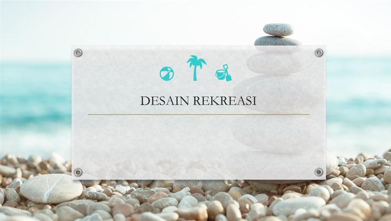 Desain rekreasi