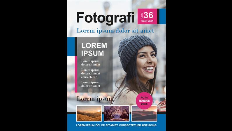 Sampul majalah fotografi