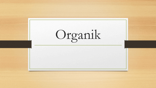Kayu Berwarna Gelap Organik