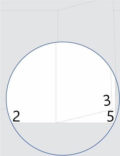 Numerazione pagine dell'opuscolo
