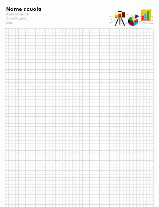 Carta per grafici