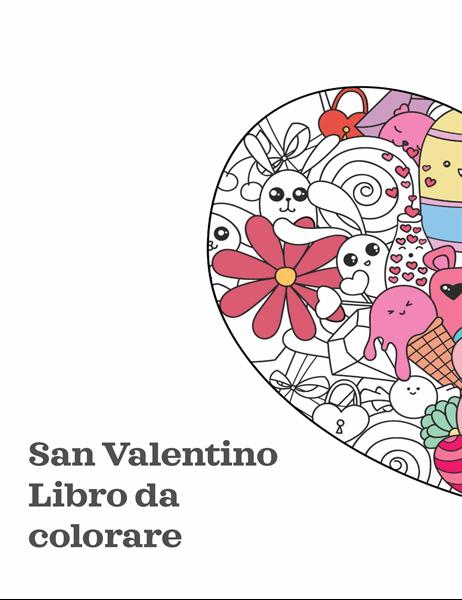 Album da disegno per il giorno di San Valentino