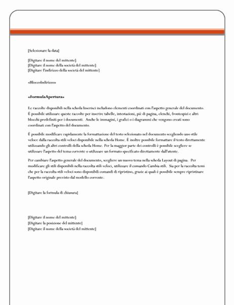 Lettera stampa unione (tema Universo)