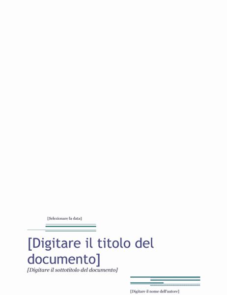 Report (tema Tramonto)
