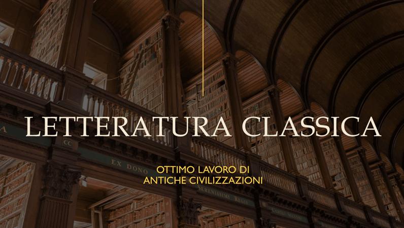 Presentazione didattica in stile libro classico (widescreen)