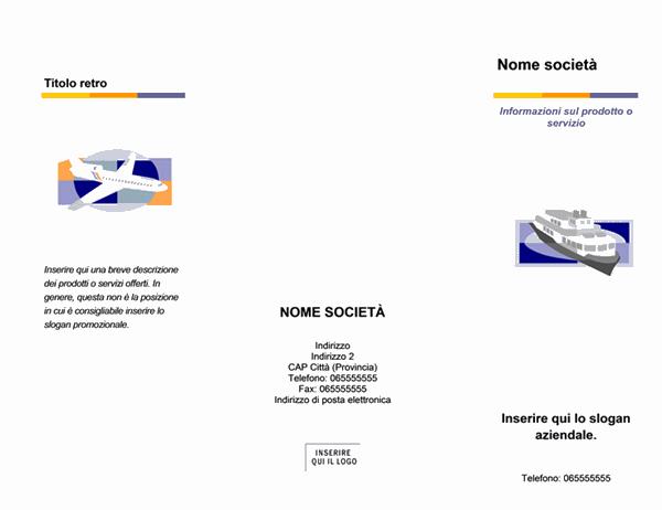 Brochure (tema Livello)
