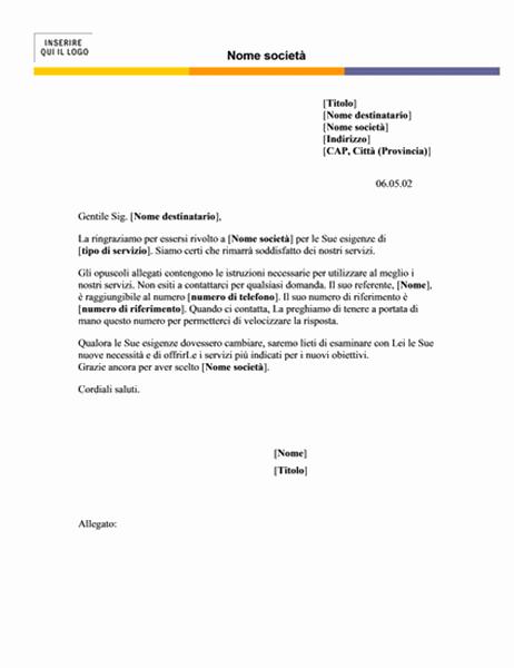 Carta intestata (tema Livello)