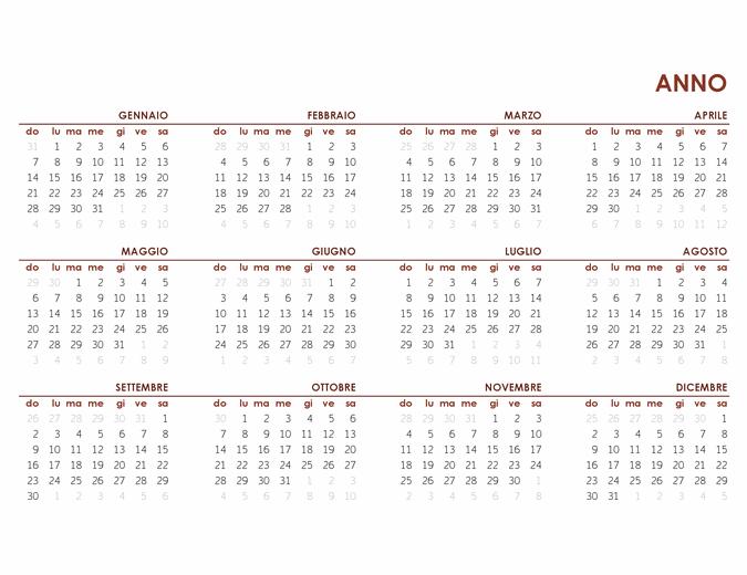 Calendario Mensile 2021 Powerpoint Calendari   Office.com
