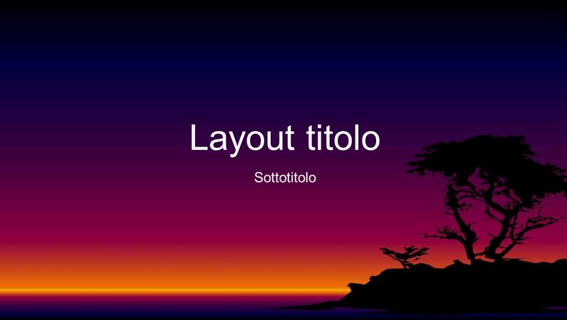 Diapositive con schema isola