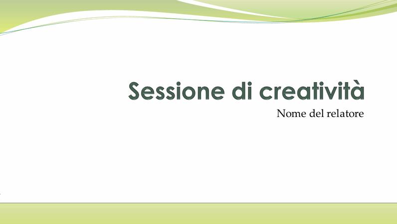 Presentazione su brainstorming aziendale