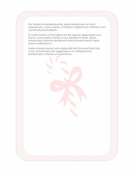 Elementi decorativi festività (con filigrana caramelle)