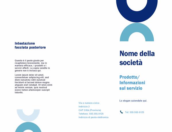 Brochure (progettazione arco)