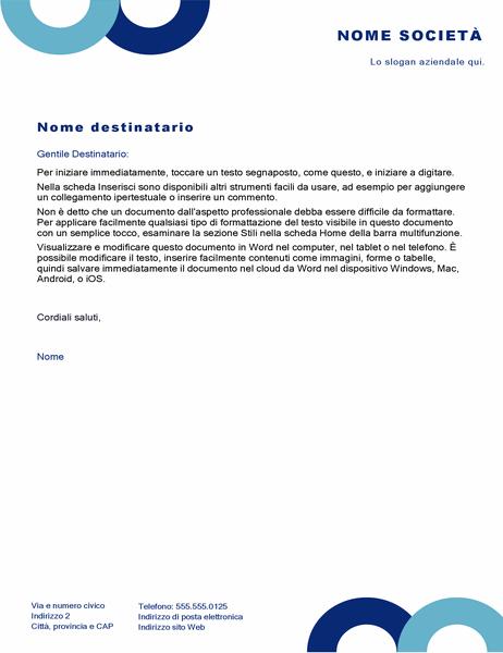 Carta intestata (design Arco)