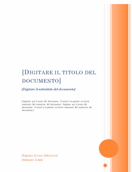Report (struttura Loggia)