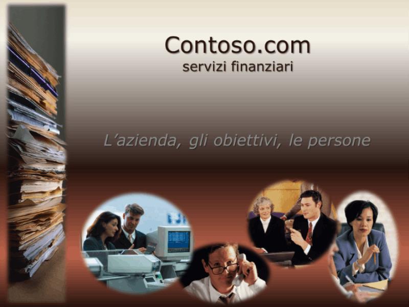 Modello struttura (tema azienda)