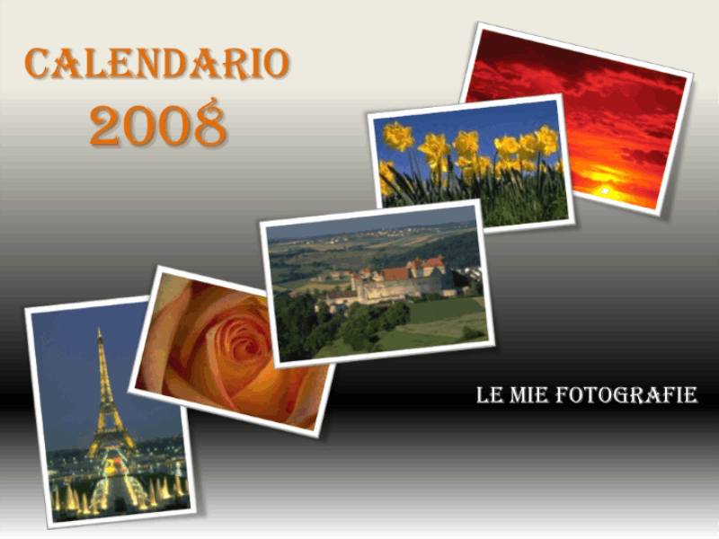Calendario 2008 (album fotografico)