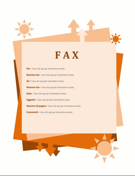 Copertina fax