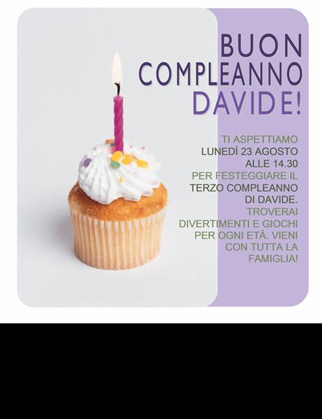 Invito Festa Compleanno