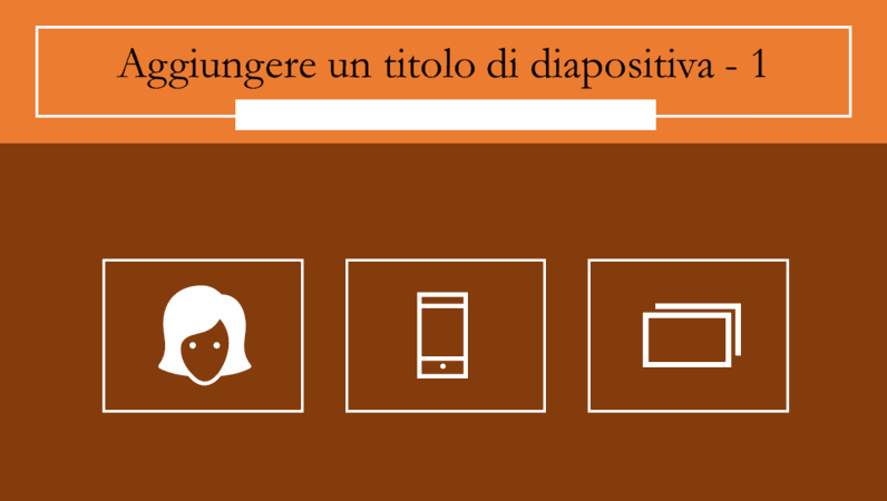 Diapositive infografiche animate